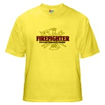 Yellow T-Shirt/ Fire 22