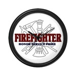 Wall Clock/ firefighter